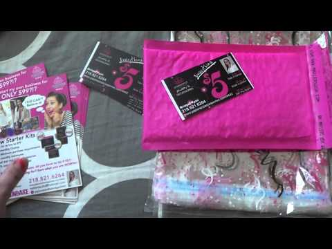 Packaging and Shipping- Bridget's Blinging Beauties