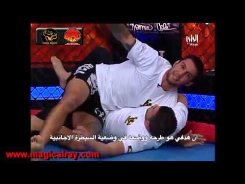 Wrestling for MMA: Kuwait Combat Athletics Ray Elbe on Cable TV Al Rai for GFC Wrestling