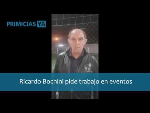 Ricardo Bochini se ofreció para ser contratado para presencias