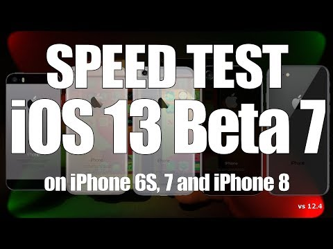 IOS 13 Beta 7 Speed Test :  Are 2 X Faster App Launch Speed Now Live?