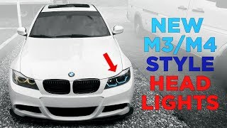 NEW F-SERIES M3/M4 Style Headlights for E90 BMW!