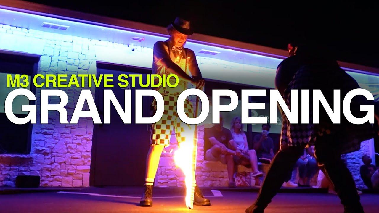 M3 Creative Studio Grand Opening