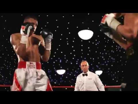 Damon Jones vs Tyan Booth - Boxing