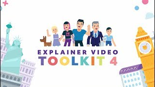 Explainer Video Toolkit 4 - After Effects Template