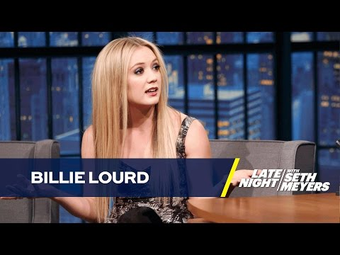 Billie Lourd's Grandma Debbie Reynolds Tried to Scare Her from Acting