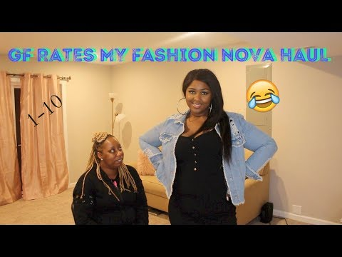 GIRLFRIEND RATES MY FASHION NOVA TRY ON HAUL|FUNNY REACTIONS