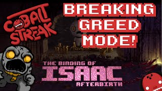 Binding of Isaac Afterbirth #23 - Breaking Greed Mode - Cobalt Streak