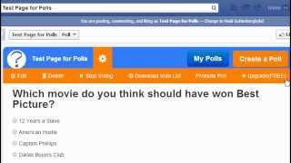 How to Create a Free Poll on Facebook