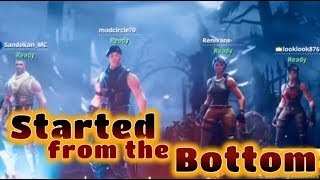 CLIPS courts FORTNITE: Started From The Bottom (fr) #SkyBridge Fortnite Bataille Royale