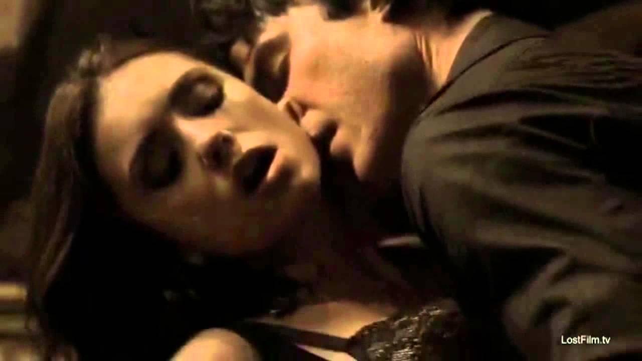 Дневники Вампира Секс Елены И Деймона Видео