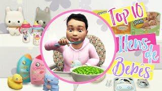 TOP 10 ITENS PARA BEBÊS   Dicas Conteúdo personalizados   The Sims 4