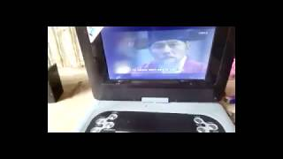 Use you Portable DVD Player as LED TV in your Digital Box/Cable