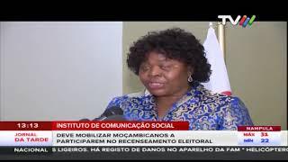 ICS deve mobilizar moçambicanos a participarem no recenseamento eleitoral