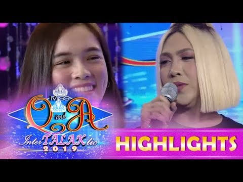 It's Showtime Miss Q & A: Vice Ganda wants Jackque to have her haircut