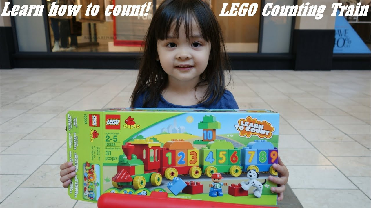 Unboxing lego learn to count train w hulyan maya youtube for Kitchen set for 8 year old