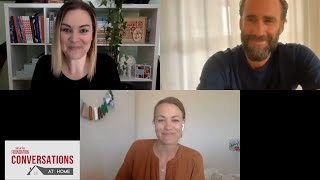 Conversations at Home with Yvonne Strahovski & Joseph Fiennes of THE HANDMAID'S TALE