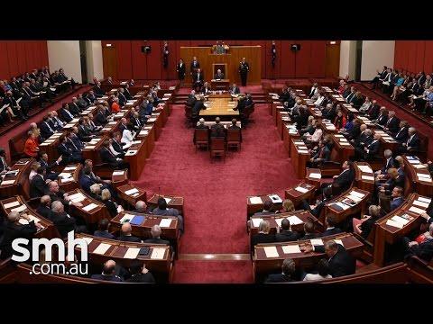 Australian Senate voting changes