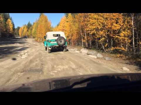 Копия видео Кольский 2015 на Chevrolet Niva LE Дорога Хибины Умба ч.1
