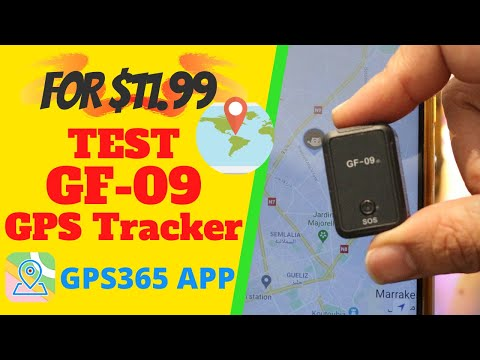 Best Hidden GPS Tracker device for vehicle Test APP Better than GF-07