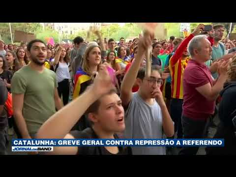 Greve Geral Atinge Serviços Públicos Na Catalunha