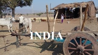 India (Crossing through the farming areas) Part 40 (HD)