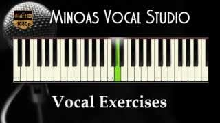 Vocal Exercises - Ma-Me-Mi-Mo-Mu (Fast)