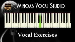 Vocal Exercises - Ma-Me-Mi-Mo-Mu (Fast)