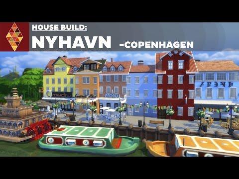 The Sims 4 - House Build - Nyhavn Copenhagen