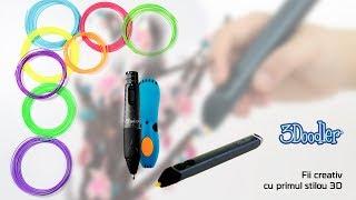 Fii creativ cu 3Doodler Create - Creion 3D!