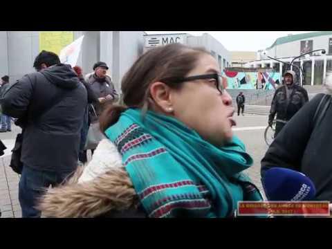 ( 2017 - 11 - 22 ) ... Manif-action à Montréal - Journée pancanadienne d'actions , Avec le FRAPRU