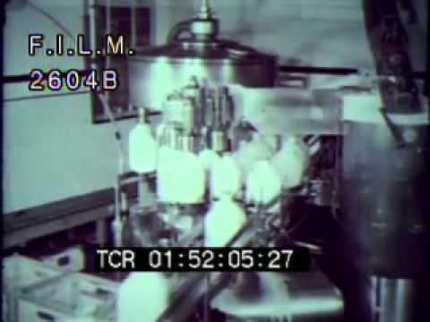 Vintage Milk Factories (stock footage / archival footage)