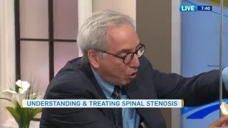Dr. Carlo Ammendolia talks about Spinal Stenosis on Canada AM (CTV)