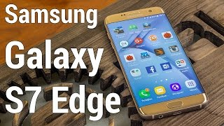 Обзор Samsung Galaxy S7 Edge - достоинства и недостатки корейского фаблета от FERUMM.COM