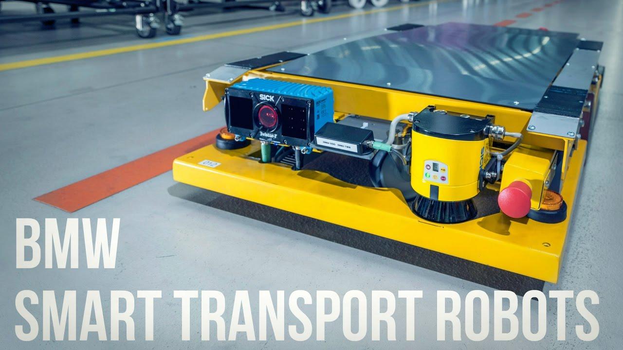 Smart Car In >> BMW Smart Transport Robots - YouTube