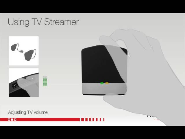 Using your ReSound Unite TV Streamer 2