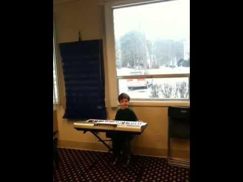 Roman's piano recital