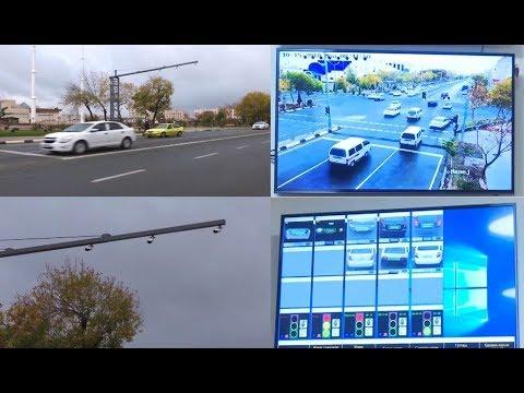 Нөкис қаласындағы жолларға видеобақлаў камералары орнатылды // Nukus Qaraqalpaqstan