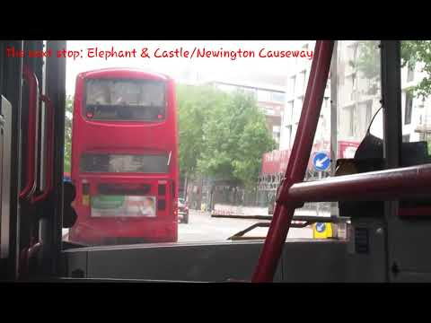 London with Rosalina Movies (#2) - A bit of Route C10 towards Victoria (#1) ft. YX59 BYO & YX16 NZY