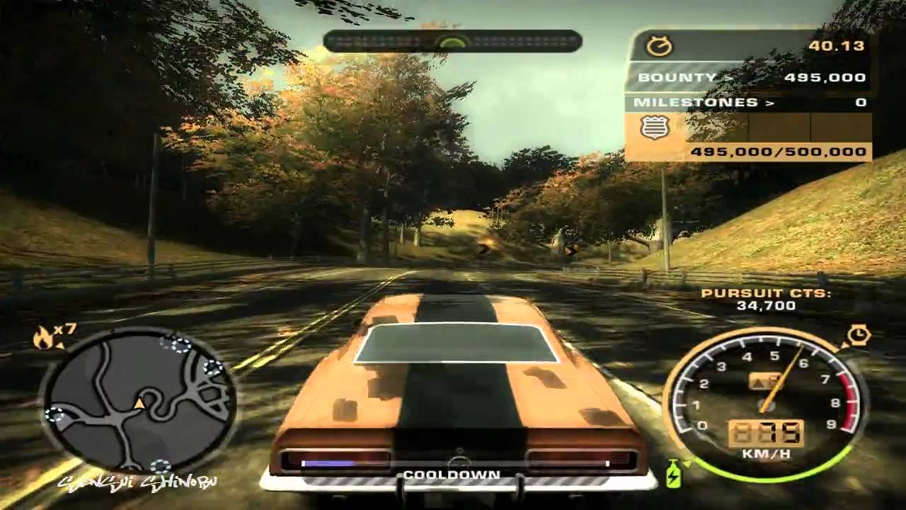 NFS:Most Wanted - Challenge Series - #69 - Black Edition ...