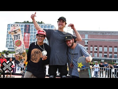 Skateboard Big Air Medal Runs | X Games Shanghai 2019