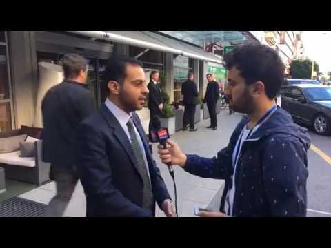 لقاء مهند دليقان رئيس وفد منصة موسكو مع قناة الاتحاد برس  - 21:22-2017 / 5 / 16