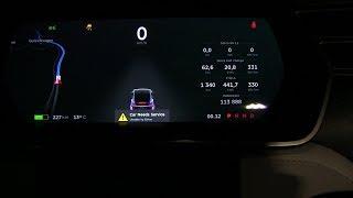 Tesla Model X breakdown
