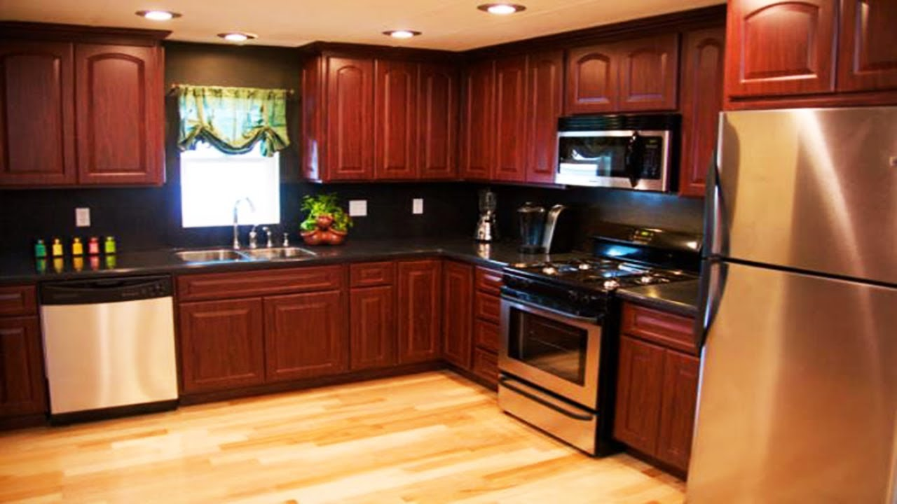 Mobile Home Kitchen Remodel Ideas - YouTube