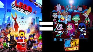 24 Reasons The Lego Movie & Teen Titans Go To The Movies Are The Same Movie