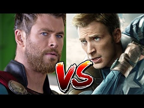 Captain America vs Thor | Which Marvel Avenger Would Win?