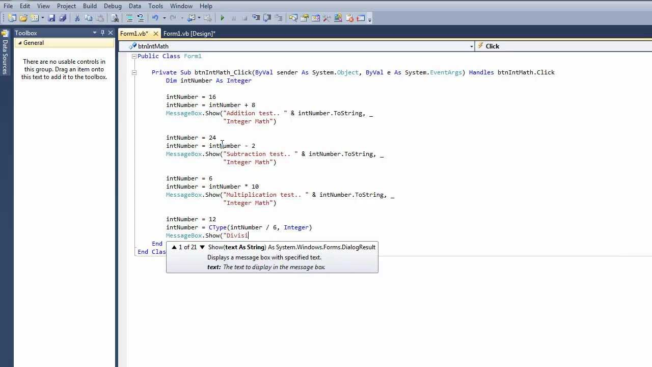 visual basic tutor Microsoft visual basic for applications (vba) enables non-programmers to record, create, and edit macros that can automate tasks in office applications this article explains where you can find help when you use the visual basic editor provided in your office application in the visual basic editor .