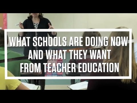 Tech EDGE Conference 17: What Schools are Doing Now & What They Want from Teacher Education