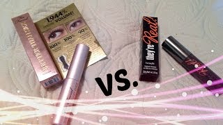 they re real vs better than sex mascara