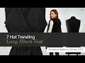 7 Hot Trending Long Black Vest Amazon Fashion, Winter 2017