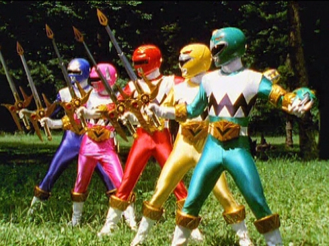 Lights Of Orion First Battle Power Rangers Lost Galaxy